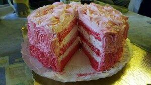 ombre torta