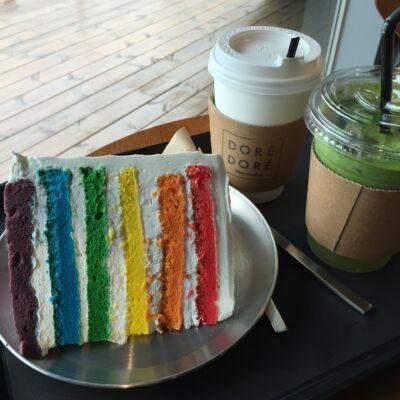 színes torta